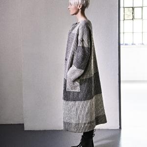 vlněný svetro-kabát |