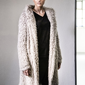kabát podšívkovaný  