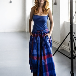 sukně z lehké bavlny  