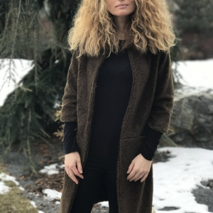 kabát | podšívkovaný kabát