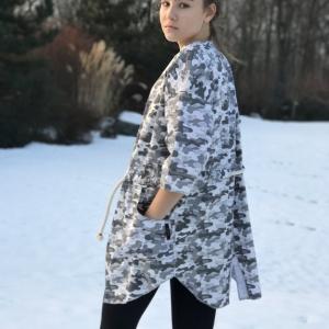 letní kabátek | 100% bavlna