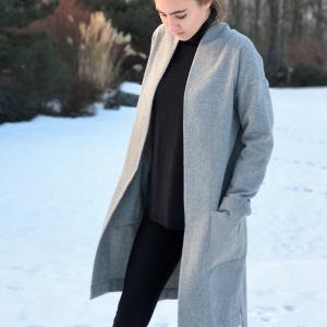 Kabátek | kvalitní vlněný materiál