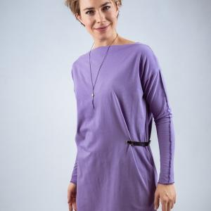 šaty s přezkou |