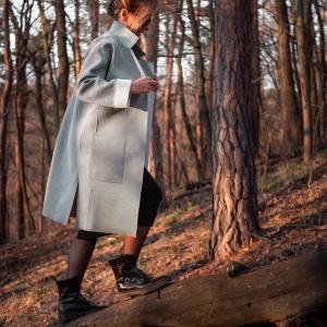 lehký kabát, moderní neopren |